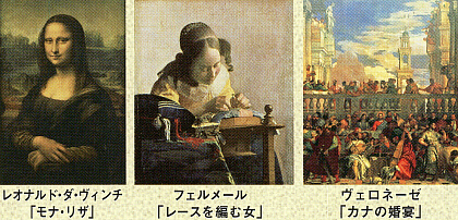 世界の美術館 DVD ルーブル美術館Ⅱ モナリザ、ラファエロ、フェルメールなど
