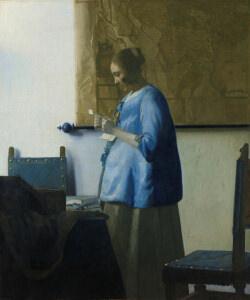 フェルメール 「手紙を読む女」 アムステルダム国立美術館