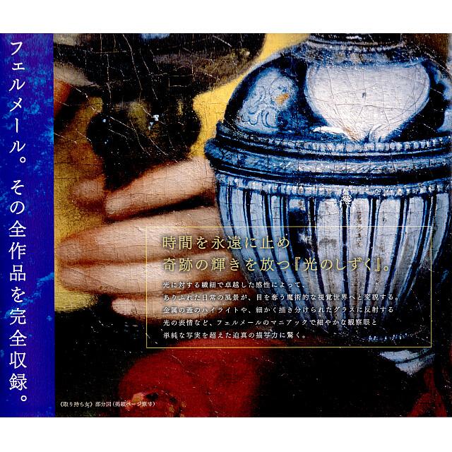 フェルメール全作品集(画集)カタログ。「取持ち女」部分図。